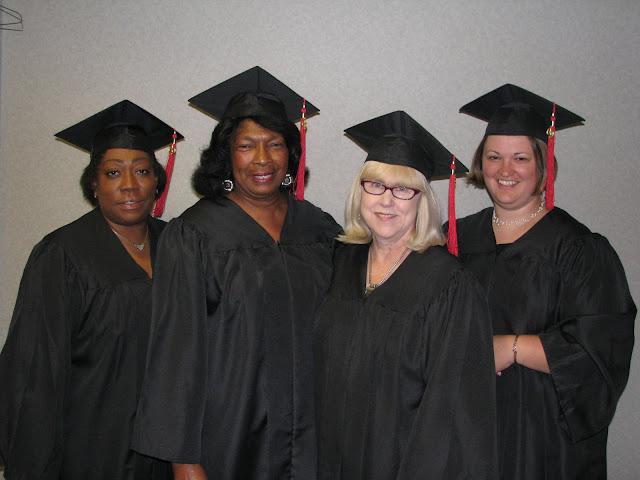 (From left to right) Regina Martin,  AME Church FCU (Baton Rouge, LA); Frances Morris, Citizens Choice FCU (Natchez, MS); Kathie Black, Inspire Community FCU (proposed, Battle Creek, MI); and Cindy Harrison, Straits Area FCU (Cheboygan, MI).