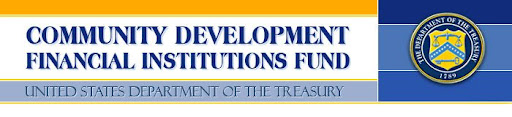 U.S. Department of the Treasury Community Development Financial Institutions Fund Logo