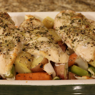 Roasted Herb Chicken & Vegetables