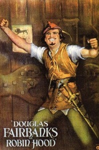 Douglas Fairbanks as Robin Hood