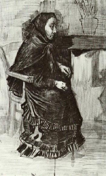 Woman in a Dark Dress (Sien's Mother?)