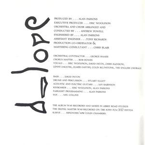 Eye in the Sky - Booklet 1