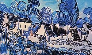 Dreams - Landscape with Cottages