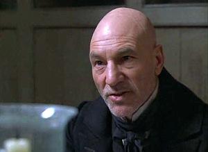 Patrick Stewart as Scrooge