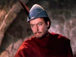 Robert Taylor as Ivanhoe