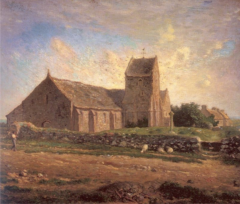 The Church at Greville - Millet
