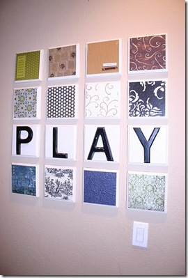 PLAY Wall Art