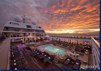 Pool Deck at Sunrise