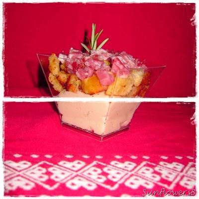 Salame in pagoda su crema di cannellini 4