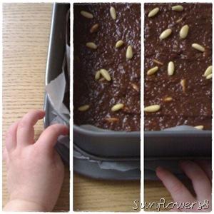 Torta paesana di pane al cacao 1