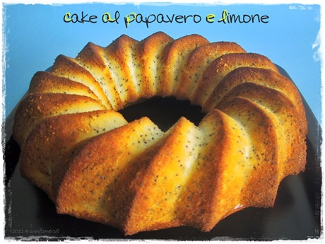 Cake al papavero e limone