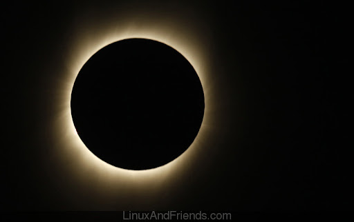 solar eclipse. Full solar eclipse