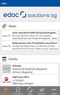 edoc - screenshot