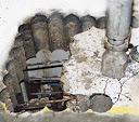 mechanical bursting of concrete slab