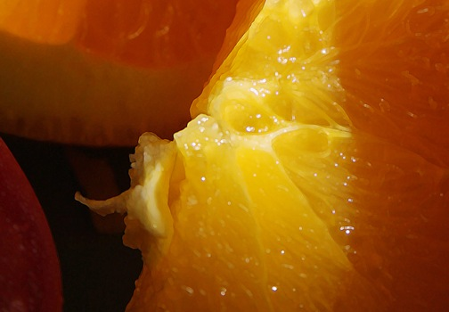 Color Week - Orange Wednesday - sliced oranges