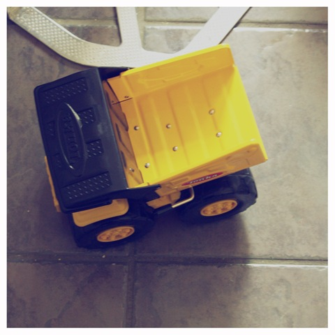 simple joys toy truck
