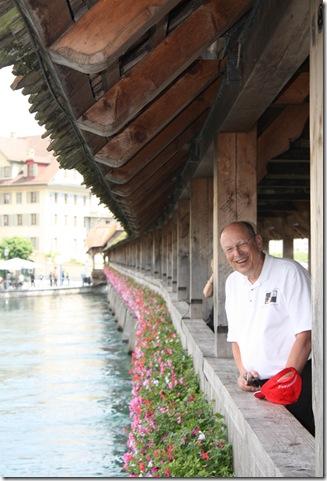 Day 2 chapel bridge in Lucerne (2)