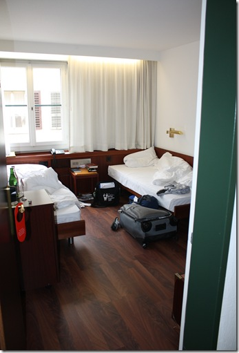 Day 2--hotel in Zurich (2)