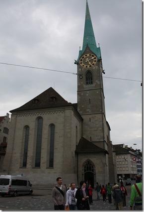 Day 1 Frau Munster in Zurich
