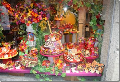 Day 1 sweet shop in Zurich