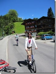 Day 8 Grindelwald scooters Lisa