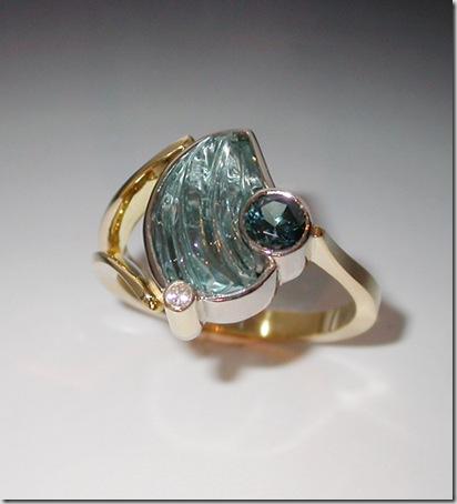 Aqua-Sapphire-Ring