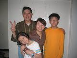 Qing-hong, Bi-ling, Benjamin and Becky
