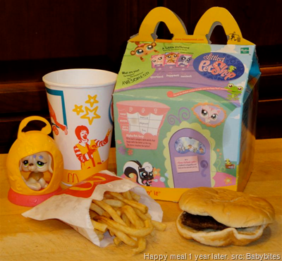 Happy meal 1 year later