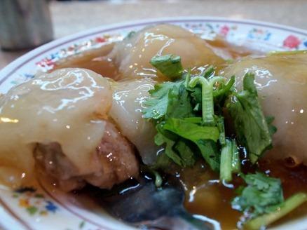 Keelung Night Market: Prawn filled meatballs