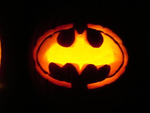 Pumpkin Batman Symbol