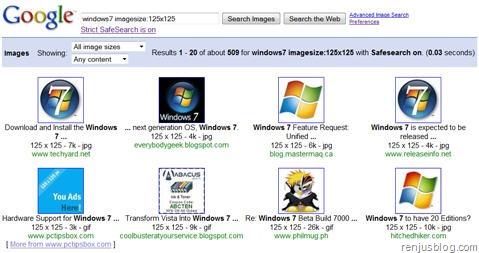 google images parameter imagesize