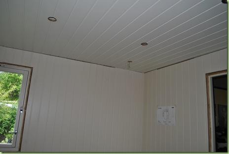 ny vägg och tak