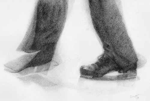 tap dancing feet