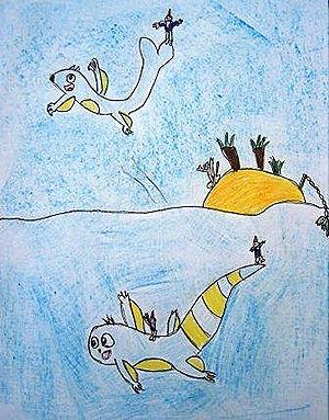 Os ananos, de Sergio