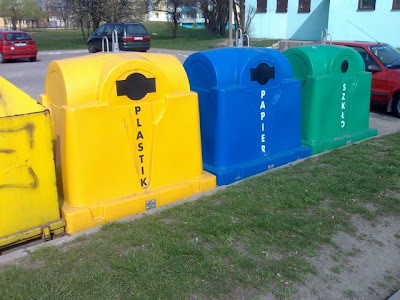 pojemniki na posegregowane odpady
