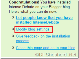 IntenseDebate-blog-settings