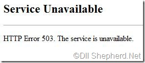 Service-unavailable-error