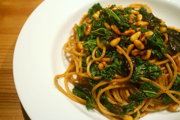 ... was heidi s harissa spaghettini recipe at 101 cookbooks this recipe