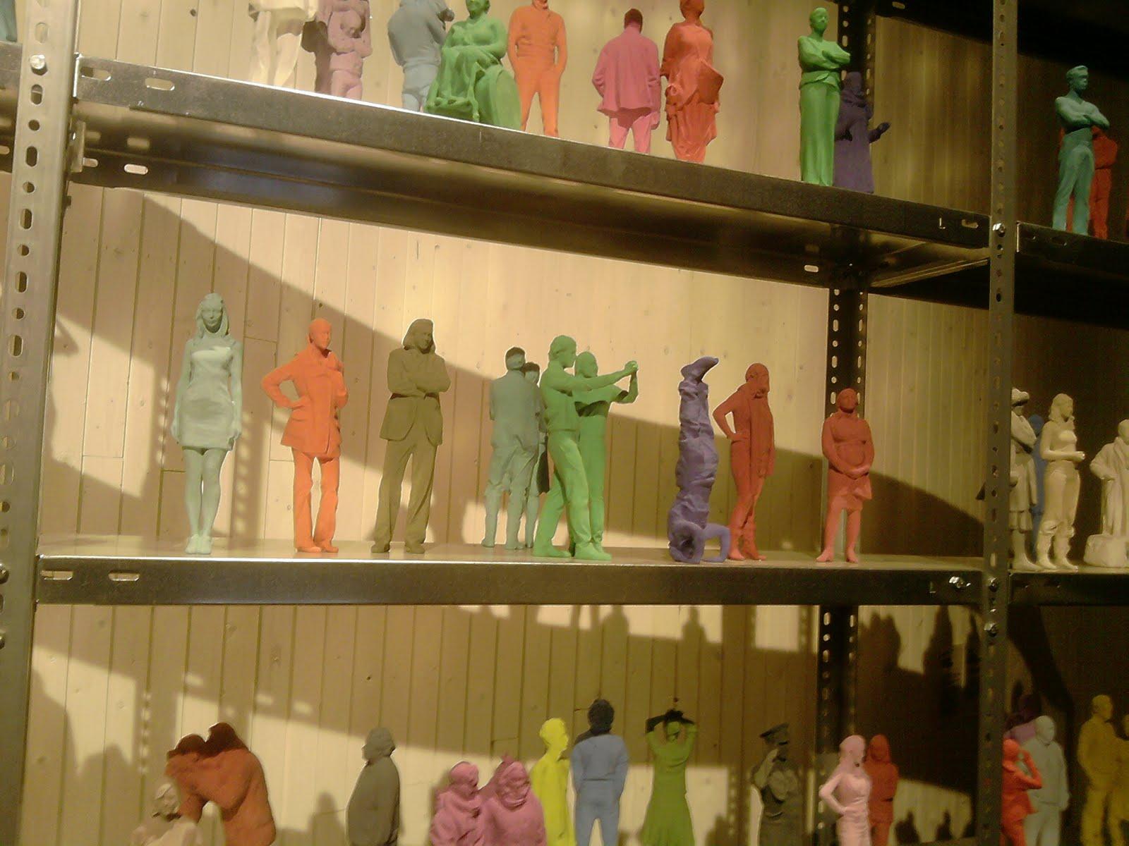 niet normaal, 3D-prints van ingescande mensen