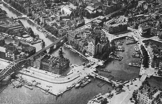 Rotterdam Oude Haven rond 1930