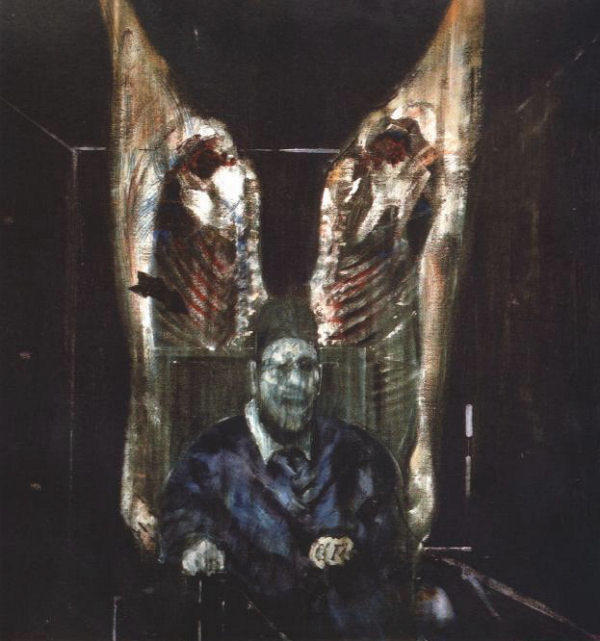 francis bacon, figure with meat