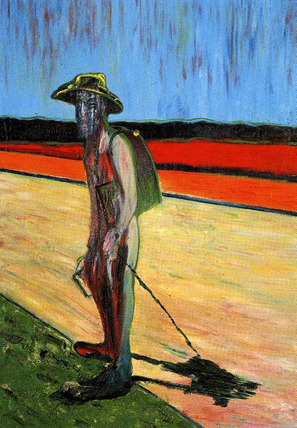 francis bacon, study for a portrait of Van Gogh V