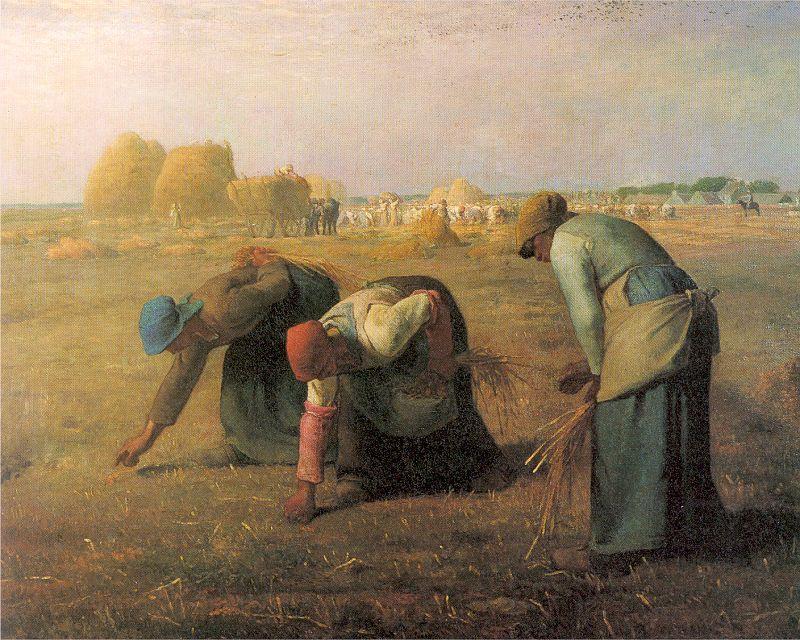 jean-françois millet, gleaners