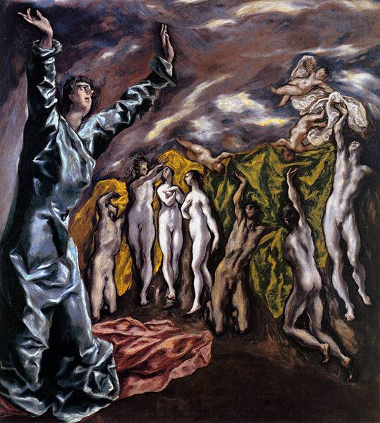 Opening of the fifth seal ~ El Greco