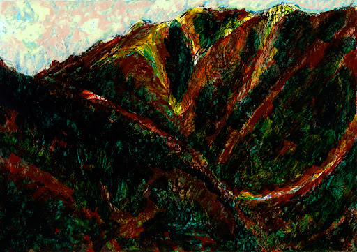 la gomera, drawing, own work