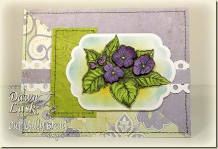 SC269 Sweet Violets