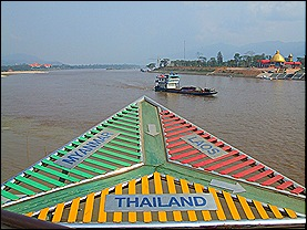 Golden triangle Thailand