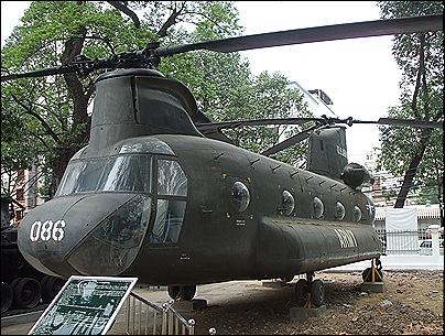 museo de los restos de guerra en Saigón