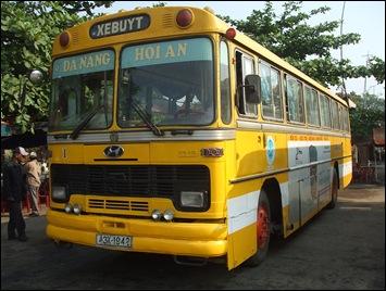 Autobús de Danang a Hoi An