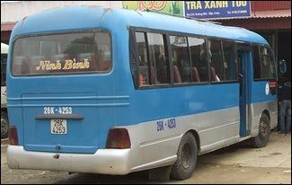Minibús de  Ninh Binh a Son La